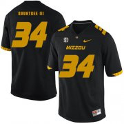 Wholesale Cheap Missouri Tigers 34 Larry Rountree III Black Nike College Football Jersey