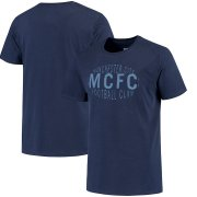 Wholesale Cheap Manchester City Nike Fan Squad T-Shirt Navy
