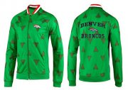 Wholesale NFL Denver Broncos Heart Jacket Green