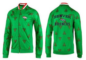 Wholesale Cheap NFL Denver Broncos Heart Jacket Green