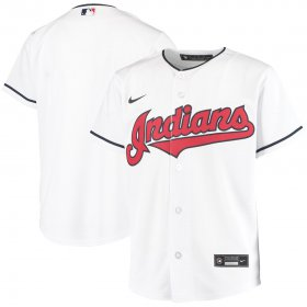 Wholesale Cheap Cleveland Indians Nike Youth Home 2020 MLB Team Jersey White