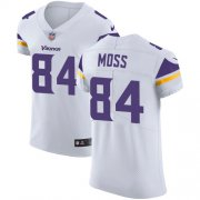 Wholesale Cheap Nike Vikings #84 Randy Moss White Men's Stitched NFL Vapor Untouchable Elite Jersey