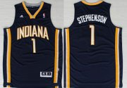 Wholesale Cheap Indiana Pacers #1 Lance Stephenson Revolution 30 Swingman Navy Blue Jersey