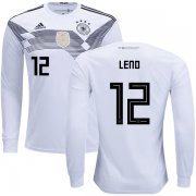 Wholesale Cheap Germany #12 Leno Home Long Sleeves Kid Soccer Country Jersey