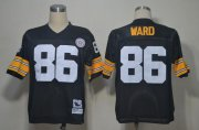 Wholesale Cheap Mitchell And Ness Steelers #86 Hines Ward Black Stitched NFL Jersey