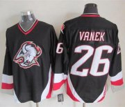 Wholesale Sabres #26 Thomas Vanek Black CCM Throwback Stitched NHL Jersey