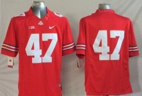 Wholesale Cheap Ohio State Buckeyes #47 A. J. Hawk 2014 Red Limited Jersey