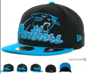 Wholesale Cheap Carolina Panthers fitted hats 07