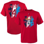 Wholesale Cheap St. Louis Cardinals #4 Yadier Molina Majestic Youth 2019 Spring Training Name & Number V-Neck T-Shirt Red