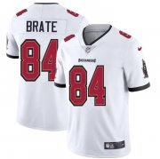 Wholesale Cheap Tampa Bay Buccaneers #84 Cameron Brate Men's Nike White Vapor Limited Jersey
