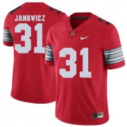 Wholesale Cheap Ohio State Buckeyes 31 Vic Janowicz Red 2018 Spring Game College Football Limited Jersey