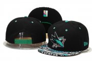Wholesale Cheap NHL San Jose Sharks hats 3