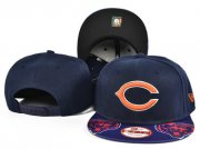 Wholesale Cheap Bears Team Logo Navy Adjustable Hat SF