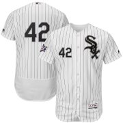 Wholesale Cheap Chicago White Sox #42 Majestic 2019 Jackie Robinson Day Flex Base Jersey White