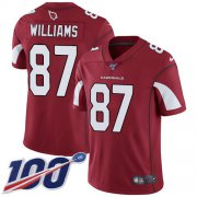 Wholesale Cheap Nike Cardinals #87 Maxx Williams Red Team Color Men's Stitched NFL 100th Season Vapor Limited Jersey