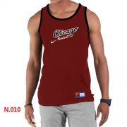 Wholesale Cheap Men's Nike Chicago White Sox Home Practice Tank Top Red