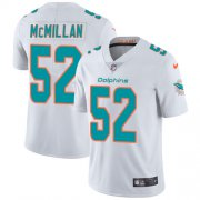 Wholesale Cheap Nike Dolphins #52 Raekwon McMillan White Youth Stitched NFL Vapor Untouchable Limited Jersey