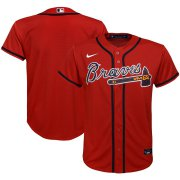 Wholesale Cheap Atlanta Braves Nike Youth Alternate 2020 MLB Team Jersey Red