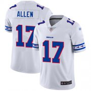 Wholesale Cheap Nike Bills #17 Josh Allen White Men's Stitched NFL Limited Team Logo Fashion Jersey