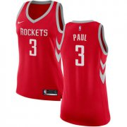 Wholesale Cheap Nike Houston Rockets #3 Chris Paul Red Women's NBA Swingman Icon Edition Jersey