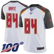 Wholesale Cheap Nike Buccaneers #84 Cameron Brate White Men's Stitched NFL 100th Season Vapor Untouchable Limited Jersey