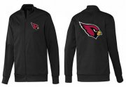 Wholesale Cheap NFL Arizona Cardinals Team Logo Jacket Black_1