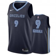 Wholesale Cheap Nike Grizzlies #9 Andre Iguodala Navy Blue Icon Edition Men's NBA Jersey