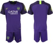Wholesale Cheap Boca Juniors Blank Purple Goalkeeper Soccer Club Jersey