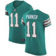 Wholesale Cheap Nike Dolphins #11 DeVante Parker Aqua Green Alternate Men's Stitched NFL Vapor Untouchable Elite Jersey