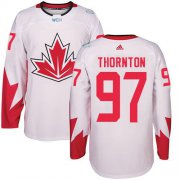 Wholesale Cheap Team Canada #97 Joe Thornton White 2016 World Cup Stitched Youth NHL Jersey