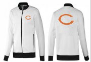 Wholesale NFL Chicago Bears Team Logo Jacket White_1