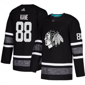 Wholesale Cheap Adidas Blackhawks #88 Patrick Kane Black Authentic 2019 All-Star Stitched Youth NHL Jersey