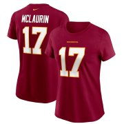 Wholesale Cheap Washington Redskins #17 Terry McLaurin Football Team Nike Women's Player Name & Number T-Shirt Burgundy