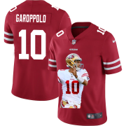 Cheap San Francisco 49ers #10 Jimmy Garoppolo Nike Team Hero 1 Vapor Limited NFL Jersey Red