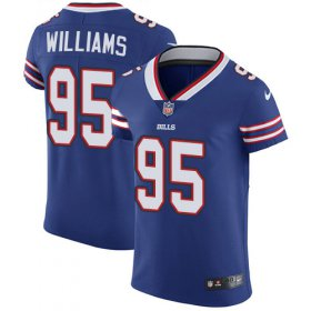 Wholesale Cheap Nike Bills #95 Kyle Williams Royal Blue Team Color Men\'s Stitched NFL Vapor Untouchable Elite Jersey