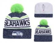 Wholesale Cheap NFL Seattle Seahawks Logo Stitched Knit Beanies 016