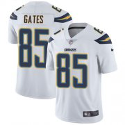 Wholesale Cheap Nike Chargers #85 Antonio Gates White Youth Stitched NFL Vapor Untouchable Limited Jersey