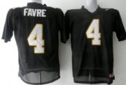 Wholesale Cheap Southern Mississippi Golden Eagles #4 Favre Black Jersey