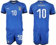 Wholesale Cheap Italy #10 Insigne Home Soccer Country Jersey