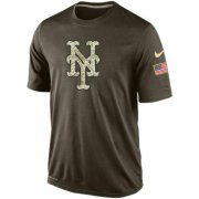 Wholesale Men's New York Mets Salute To Service Nike Dri-FIT T-Shirt