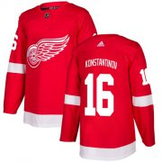 Wholesale Cheap Adidas Red Wings #16 Vladimir Konstantinov Red Home Authentic Stitched NHL Jersey