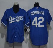 Wholesale Cheap Dodgers #42 Jackie Robinson Blue Cool Base Stitched Youth MLB Jersey