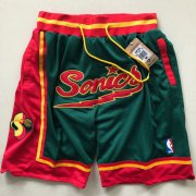 Wholesale Cheap Seattle Supersonics Shorts