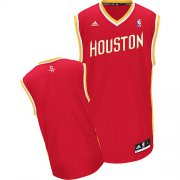 Wholesale Cheap Houston Rockets Blank Red With Gold Swingman Jersey