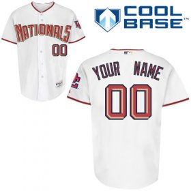 Wholesale Cheap Nationals Authentic White Cool Base MLB Jersey (S-3XL)