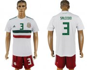 Wholesale Cheap Mexico #3 Salcedo Away Soccer Country Jersey