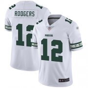 Wholesale Cheap Nike Packers #12 Aaron Rodgers White Men's Stitched NFL Limited Team Logo Fashion Jersey