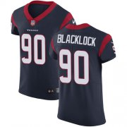Wholesale Cheap Nike Texans #90 Ross Blacklock Navy Blue Team Color Men's Stitched NFL Vapor Untouchable Elite Jersey