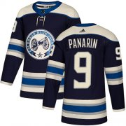 Wholesale Cheap Adidas Blue Jackets #9 Artemi Panarin Navy Alternate Authentic Stitched Youth NHL Jersey