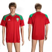 Wholesale Cheap Morocco Blank Home Soccer Country Jersey